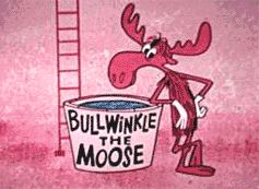 Bullwinkle J. Moose Funny and Furry