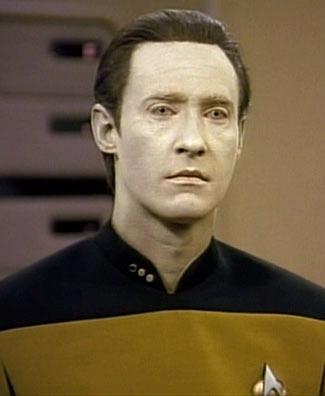 Star Trek The Next Generation Characters Lt. Data