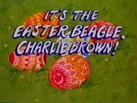 It is the Easter Beagle Charlie Brown