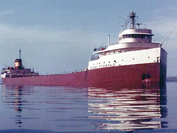 SS Edmund Fitzgerald Queen of the Lakes