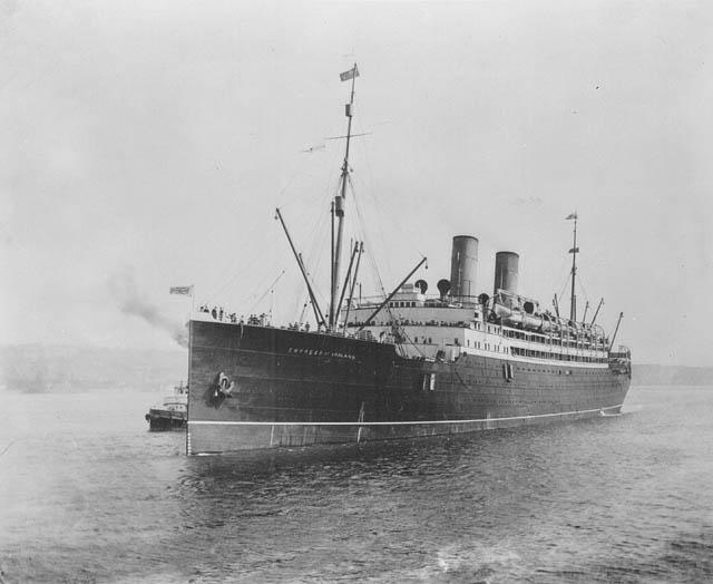 Shipwrecks RMS Empress of Ireland