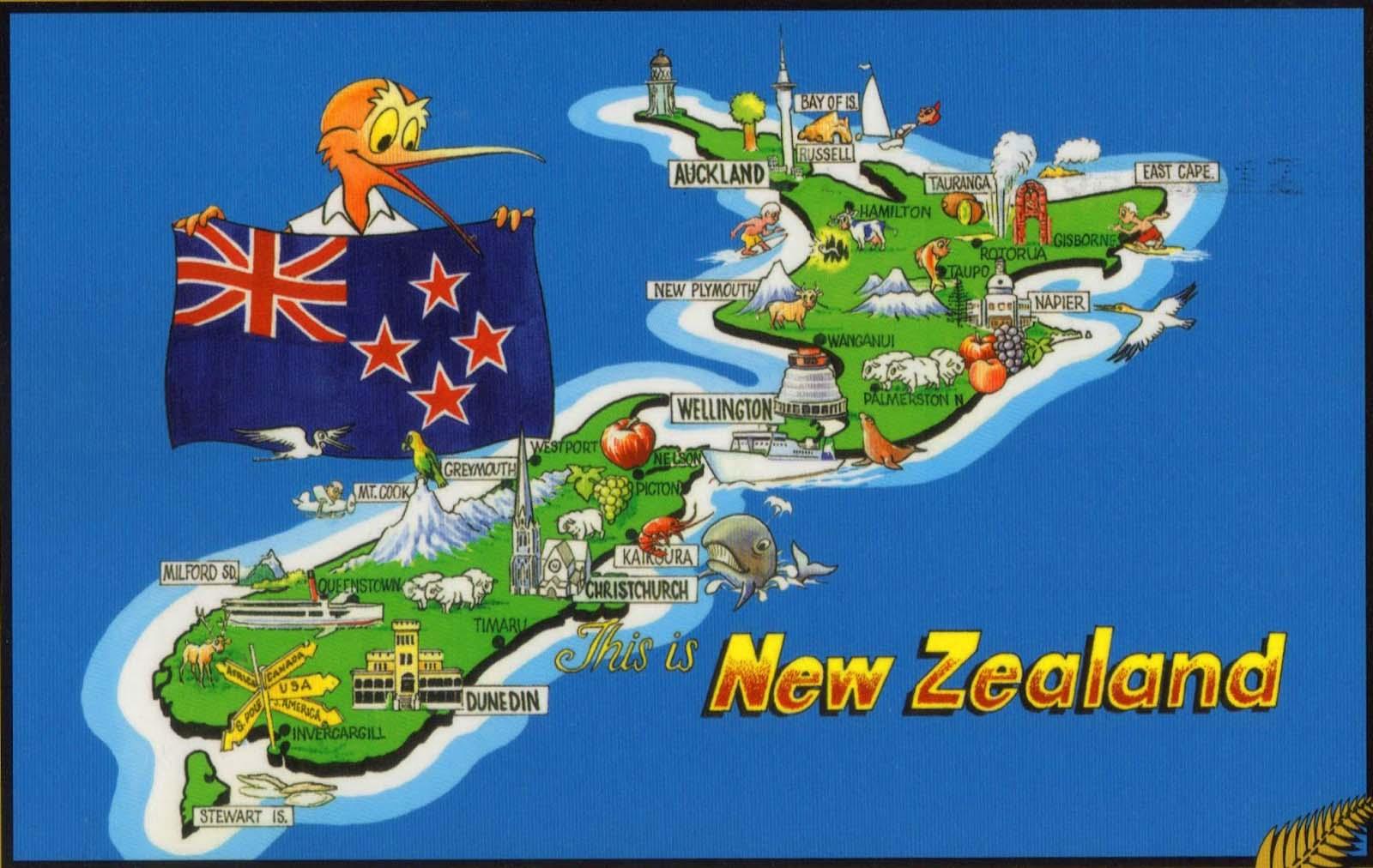Famous New Zealanders