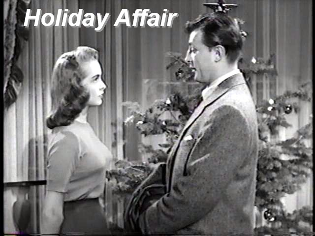 Holiday Affair Nice Christmas Movie