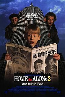 Home Alone 2 Fanatics Version