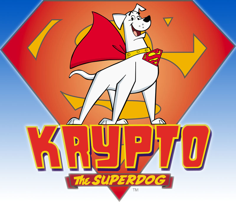 Krypto The Super Dog is Cool