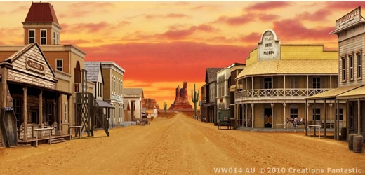 Infamous Old West Towns