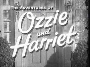 The Adventures of Ozzie and Harriet TV Sitcom