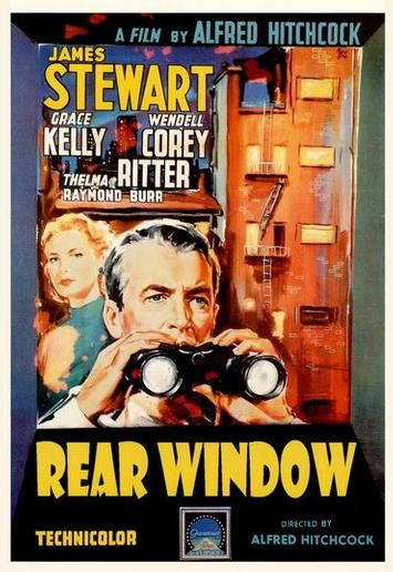 Rear Window Hitchcock Classic