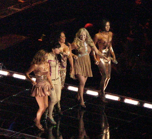 Spice Girls English Pop Girl Group