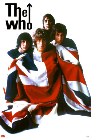 The Who British Rock Band The 1960s