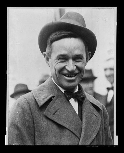 Will Rogers American Cowboy and Humorist