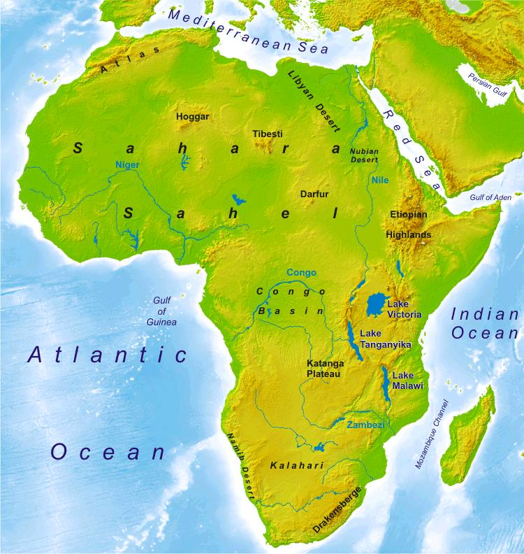 Africa Map Geography.Peoplequiz Trivia Quiz Geography Of Africa