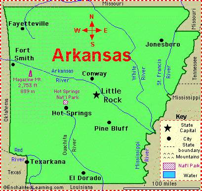 Arkansas Fun Facts