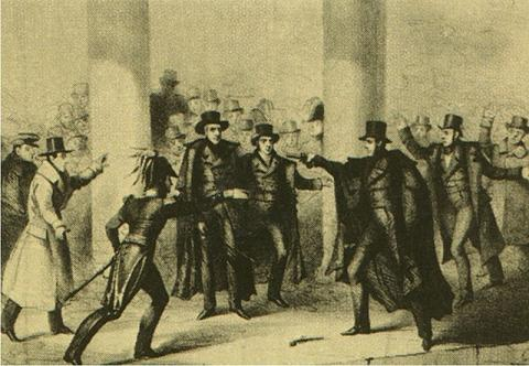 First Attempted Assassination of a President