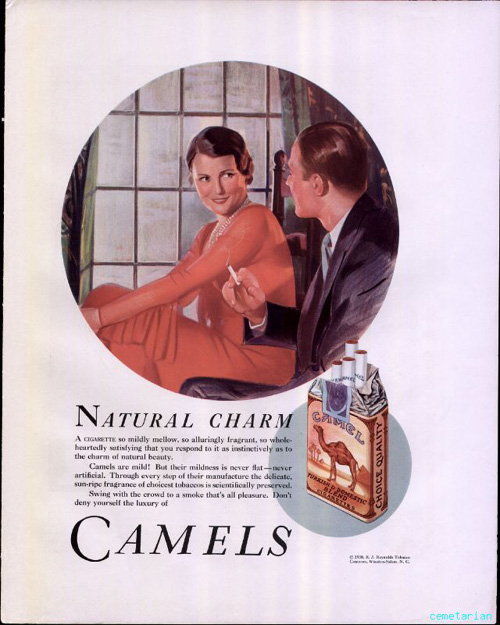 Cigarette Commercials of the 50s and 60s