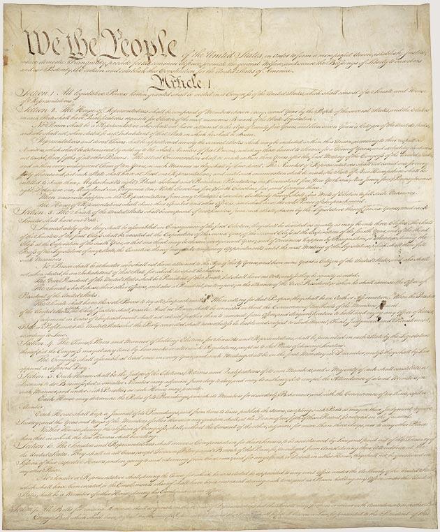 U.S. Constitution Amendment Challenge