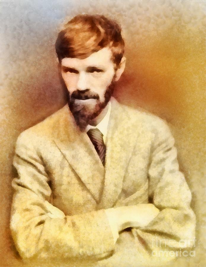 D. H. Lawrence  Brilliant but troubled writer