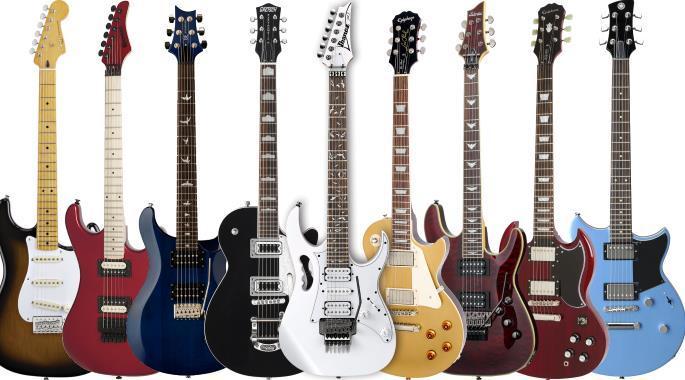 Electric Guitar Model Manufacturer Match