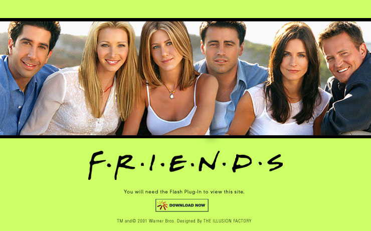 Friends TV Sitcom Season One Facts