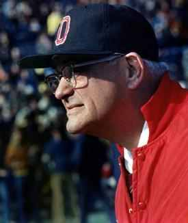 Woody Hayes Ohio State Coaching Great