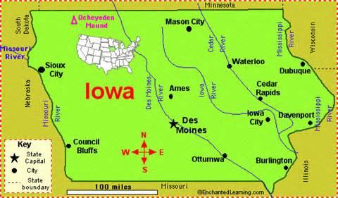 Iowa Fun Facts