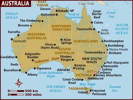 Australian History and Geography