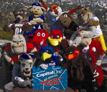 College and University Mascot Nicknames Part II