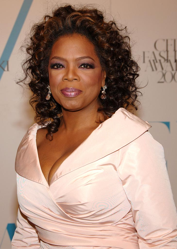 Oprah Winfrey Talkative Philanthropist