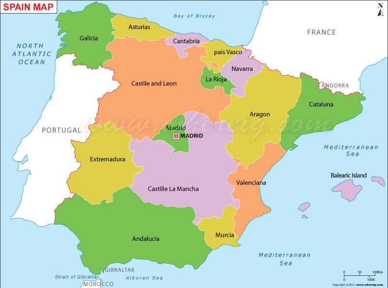 Map Of Spain Quiz.Peoplequiz Trivia Quiz Spain S Autonomous Communities Capitals
