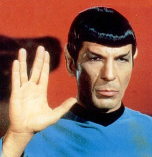 Star Trek Characters Mr. Spock