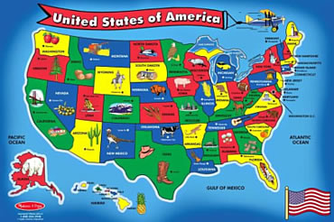 PeopleQuiz Trivia Quiz United States Of America State - States and capitals of usa map