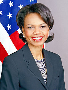 Condaleeza Rice - Vibrant Secretary of State