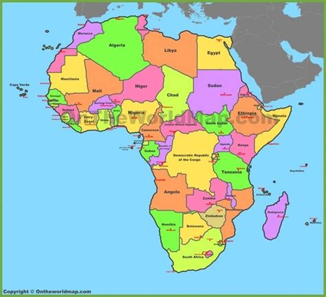 African Capital Cities - Part 1