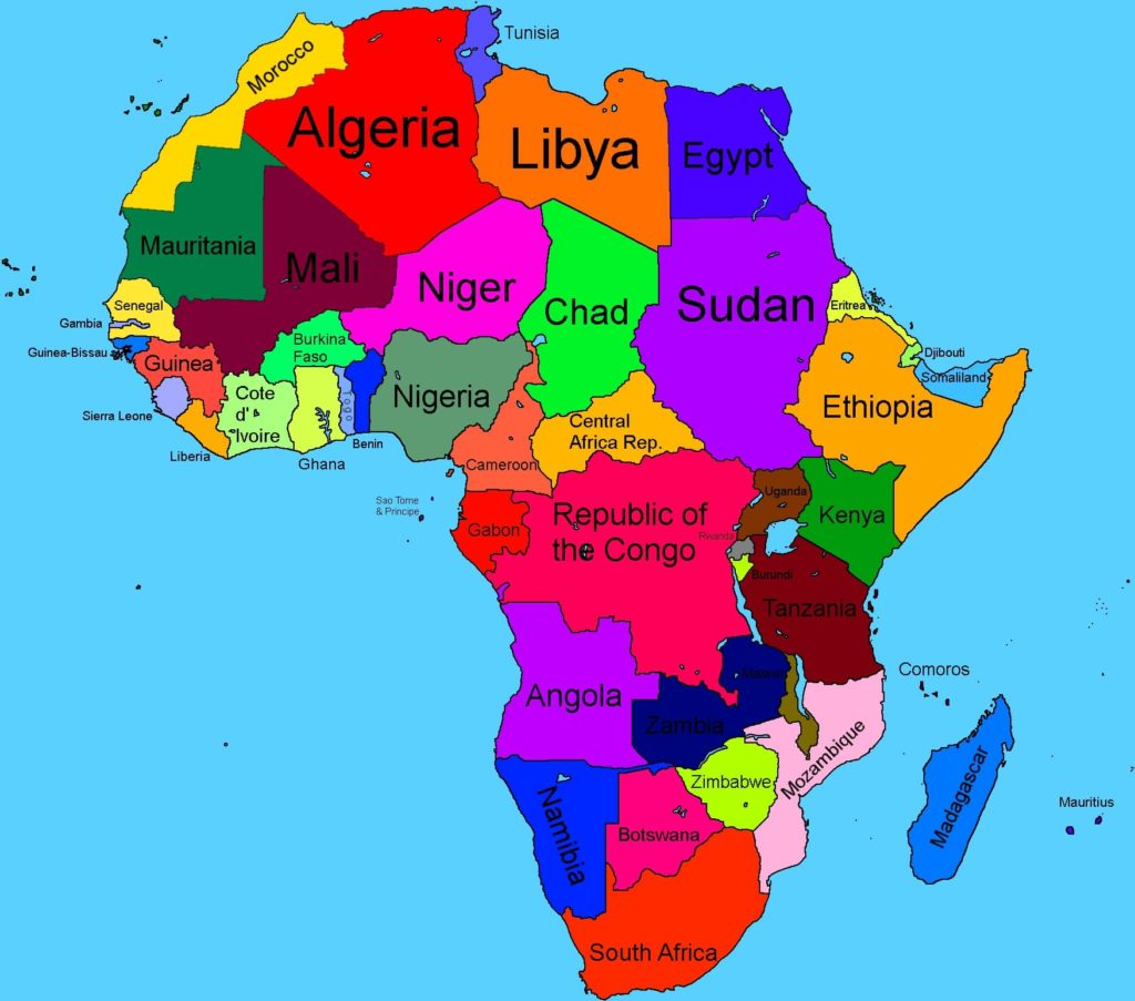 African Capital Cities - Part 2