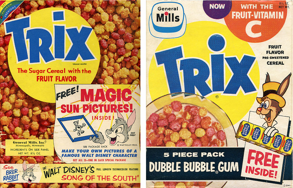 Cereal Mascots The 1950s and 1960s