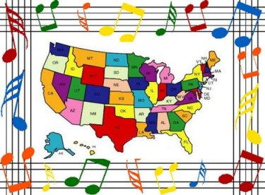 Songs Featuring U.S. State Names