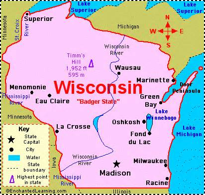 Wisconsin Fun Facts