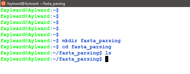 Introduction to analyzing FASTA files