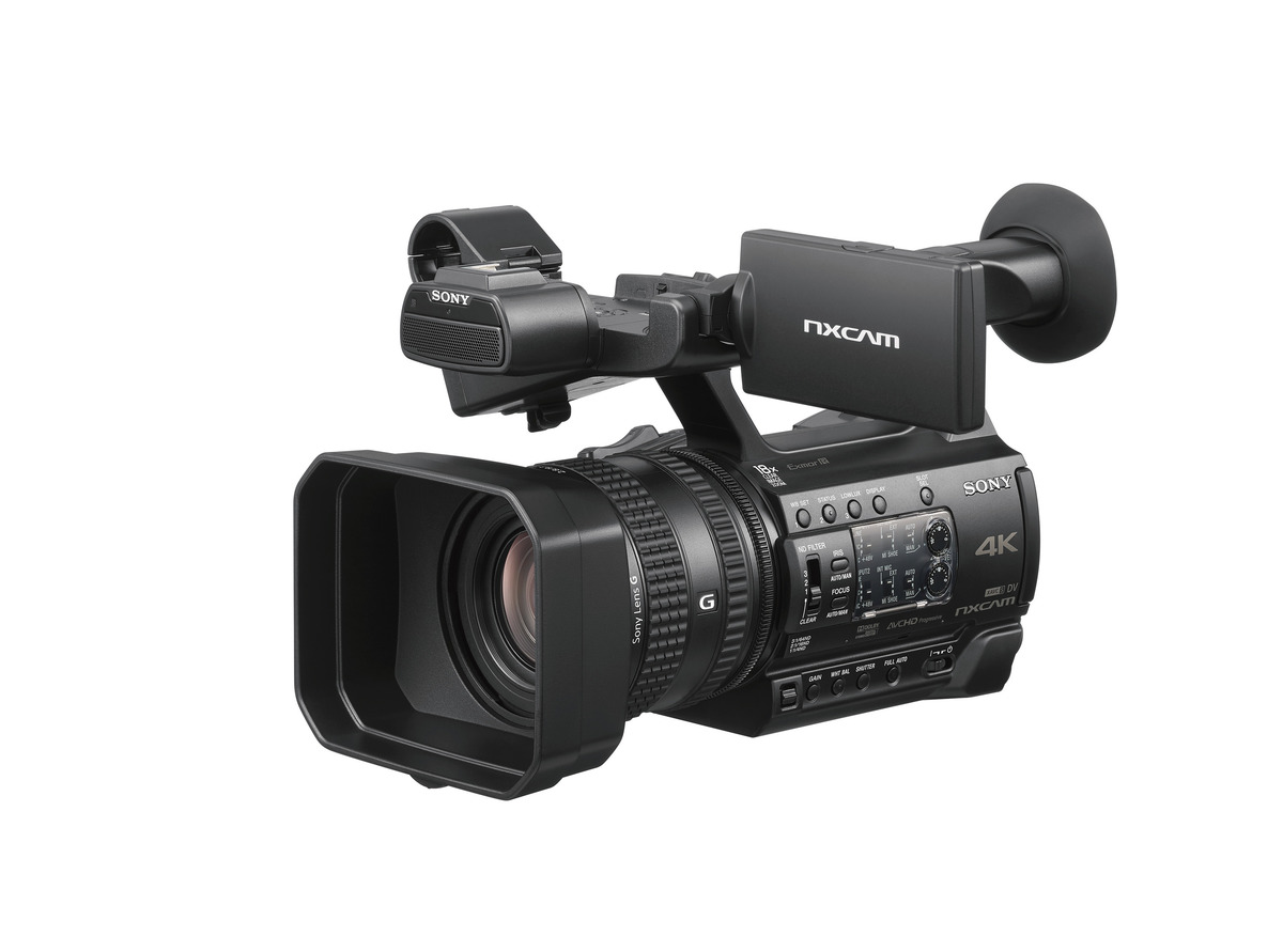 Sony Introduces New Handheld NXCAM Camcorder, HXR-NX200, Capturing 4K Superb Images with Lifelike Color Reproduction