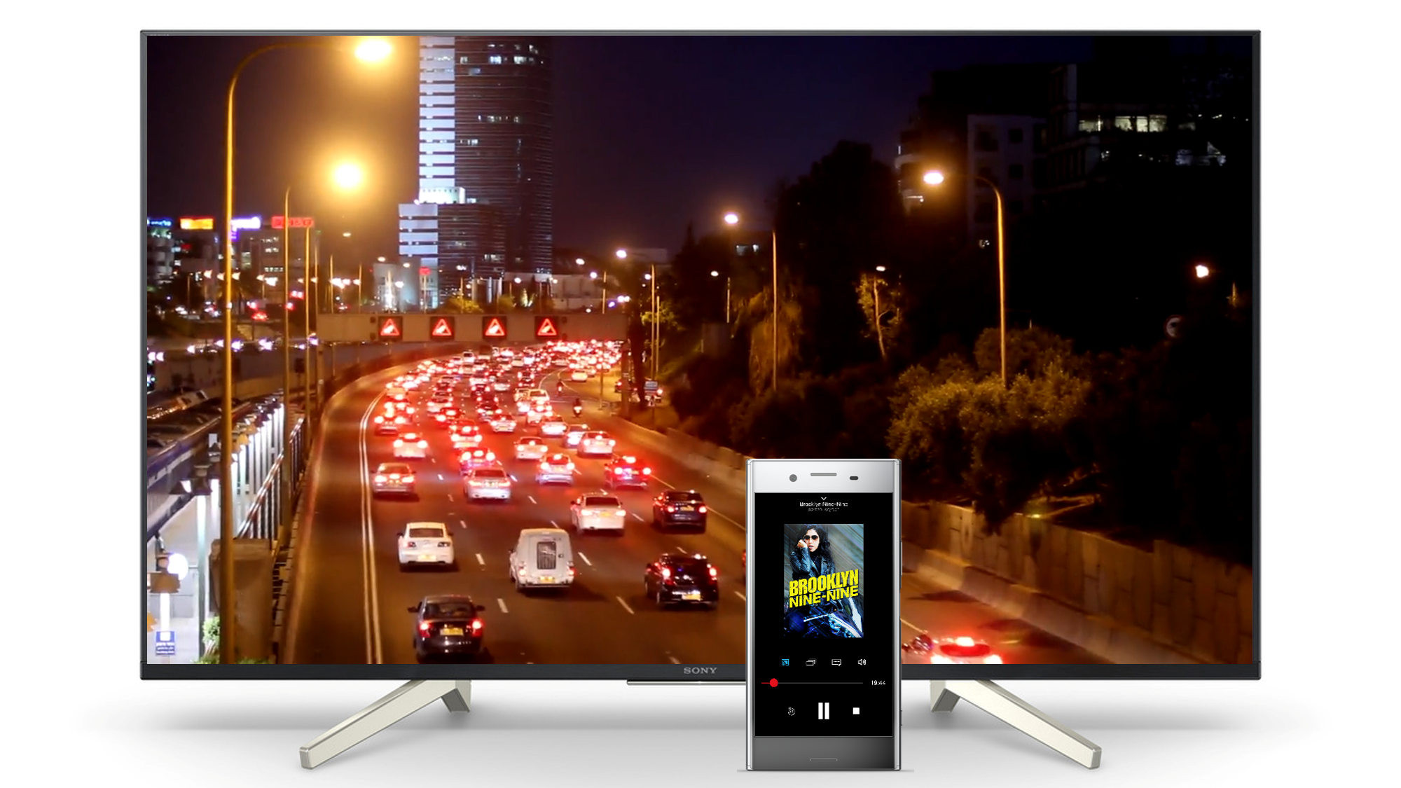Sony Extends Exterity Partnership with Built-in Chromecast Support