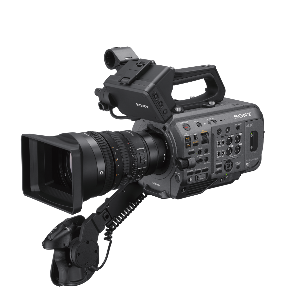 Sony launches flagship FX9 camcorder with newly-developed Full-Frame[1]sensor, Fast Hybrid Auto Focus system and enhanced mobility features