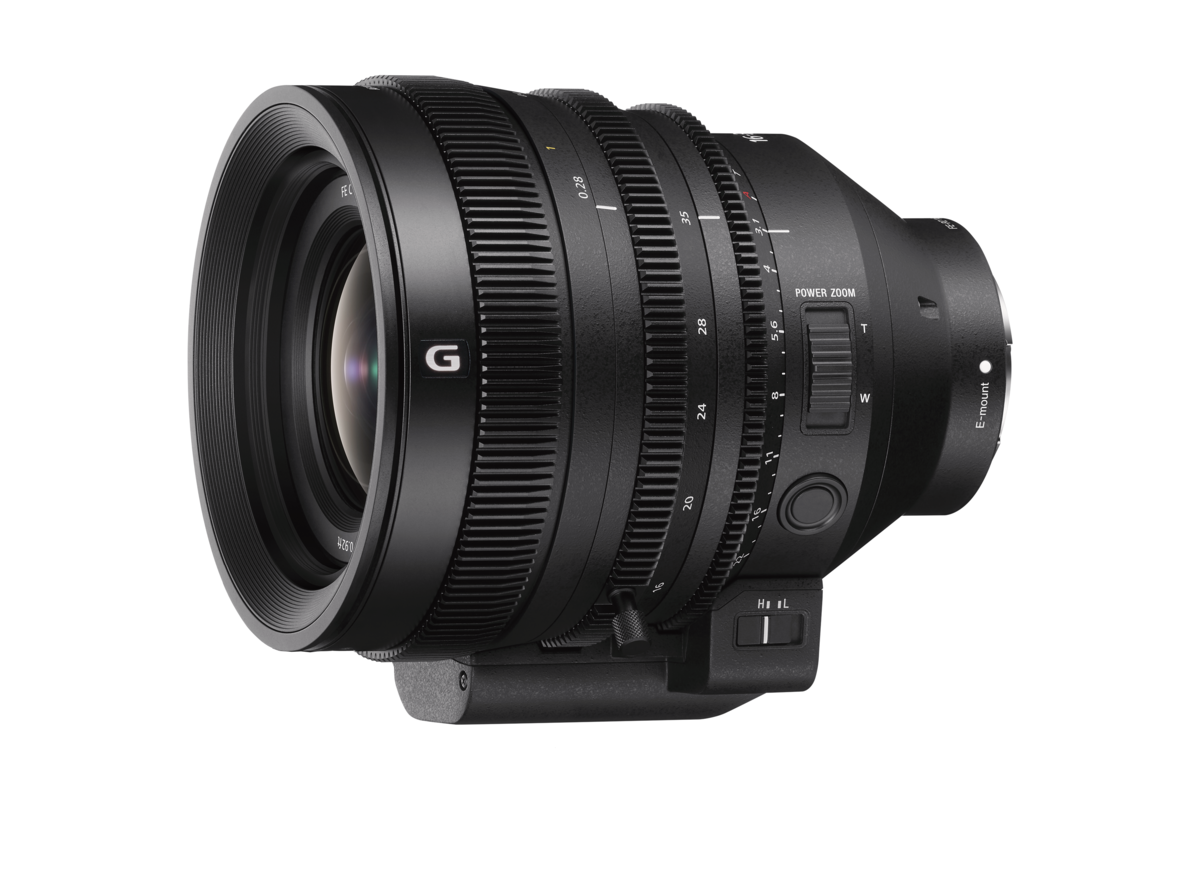 Sony unveils new E-mount Cinema lens FE C 16-35mm T3.1 G offering high optical performance and reliable operability for professional video shooting