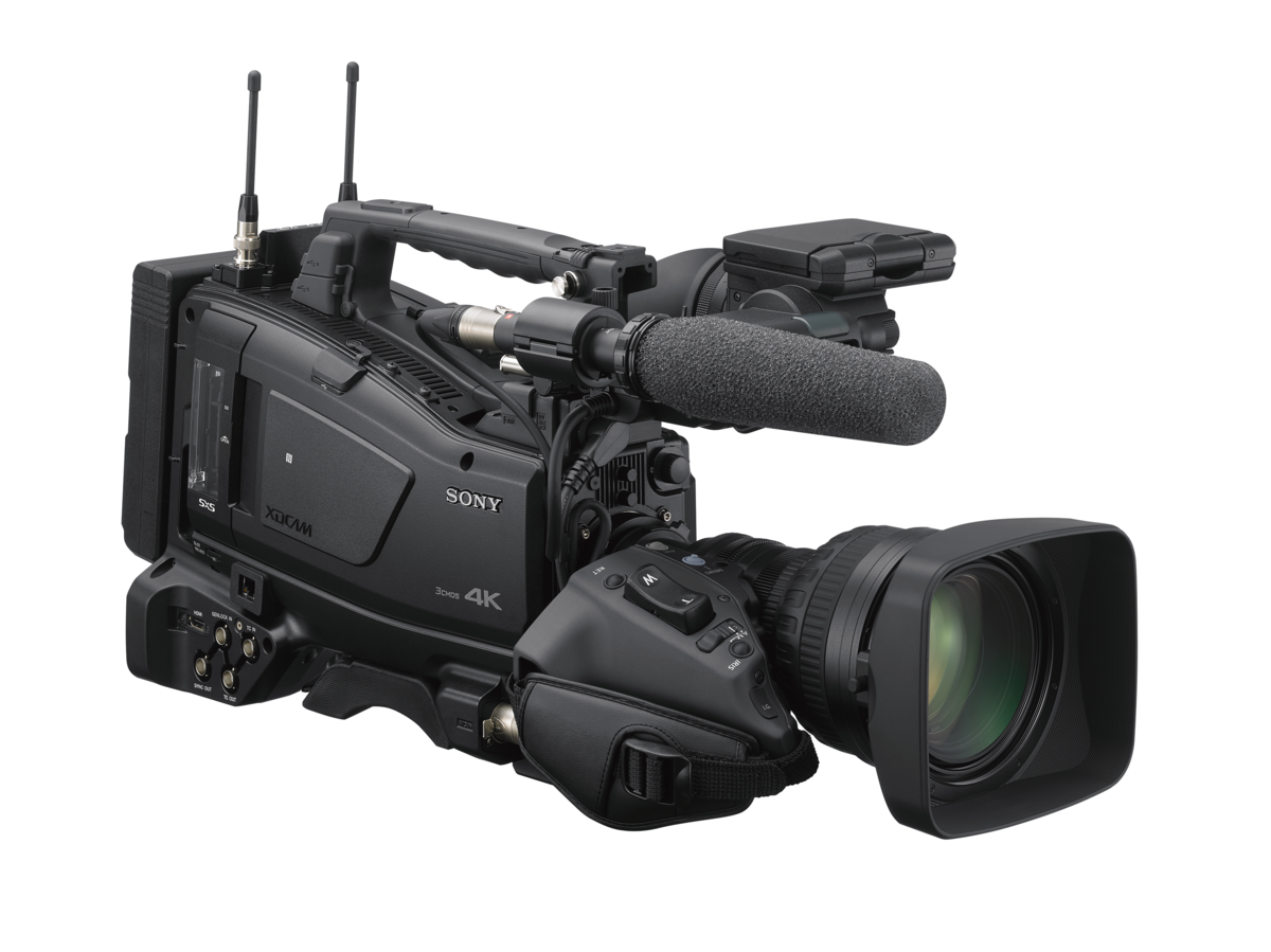 Sony Unveils PXW-Z750 Flagship XDCAM Shoulder Camcorder, with 4K 2/3-type 3-chip CMOS Sensor System with Global Shutter