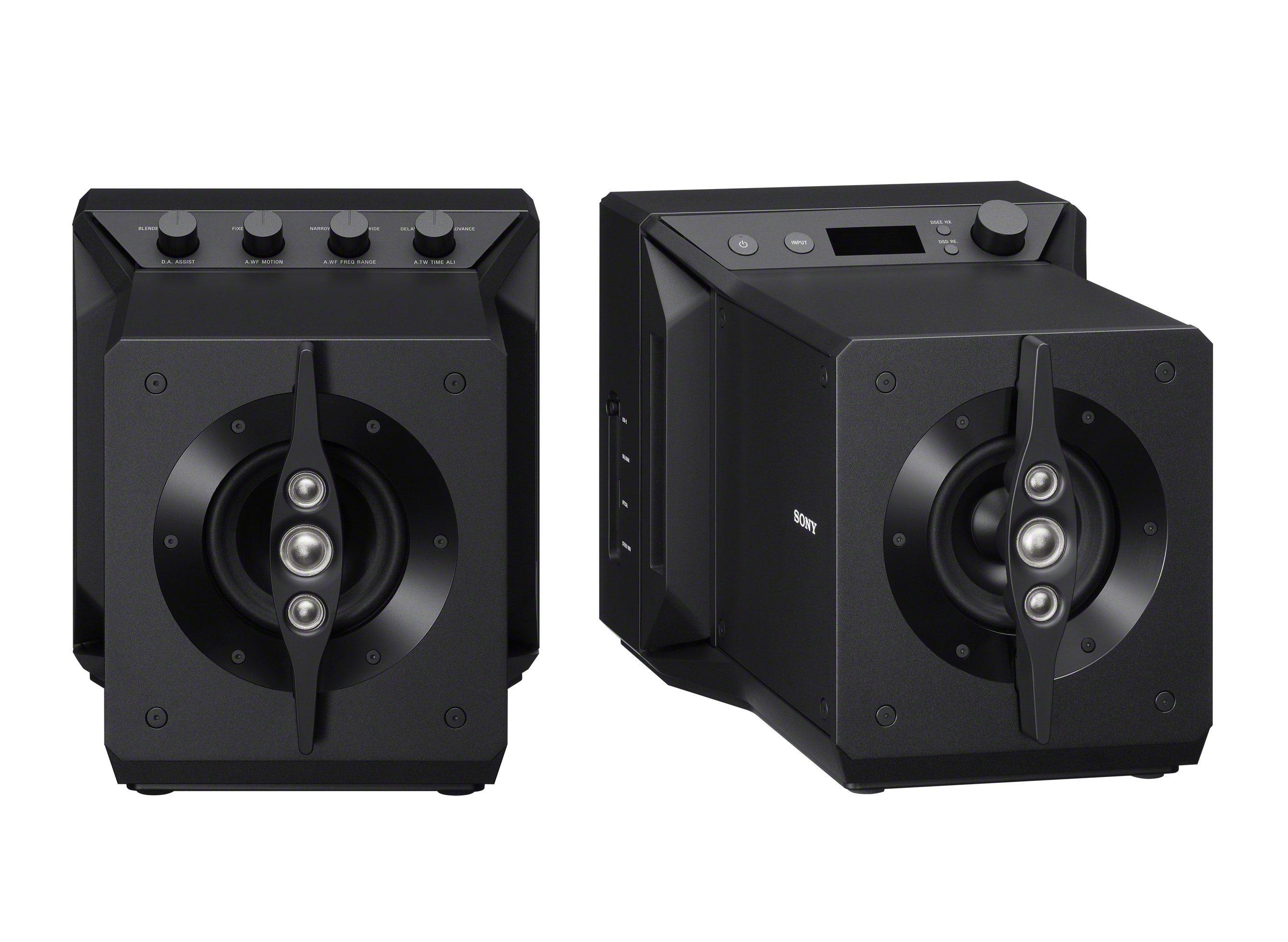 Experience sublime sound with Sony's Signature Series SA-Z1 near field powered speaker system