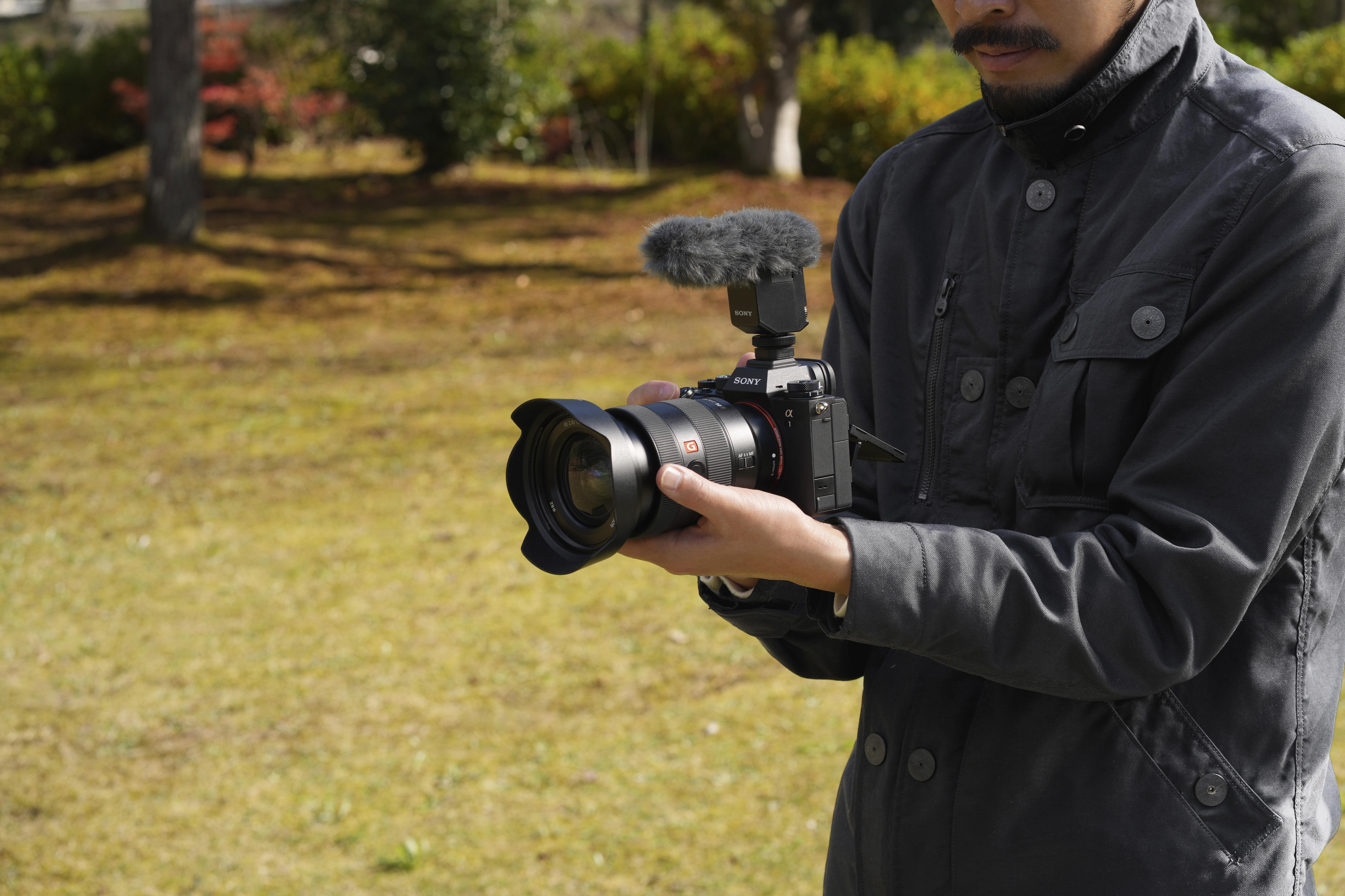 ILCE-1_Movie_shooting
