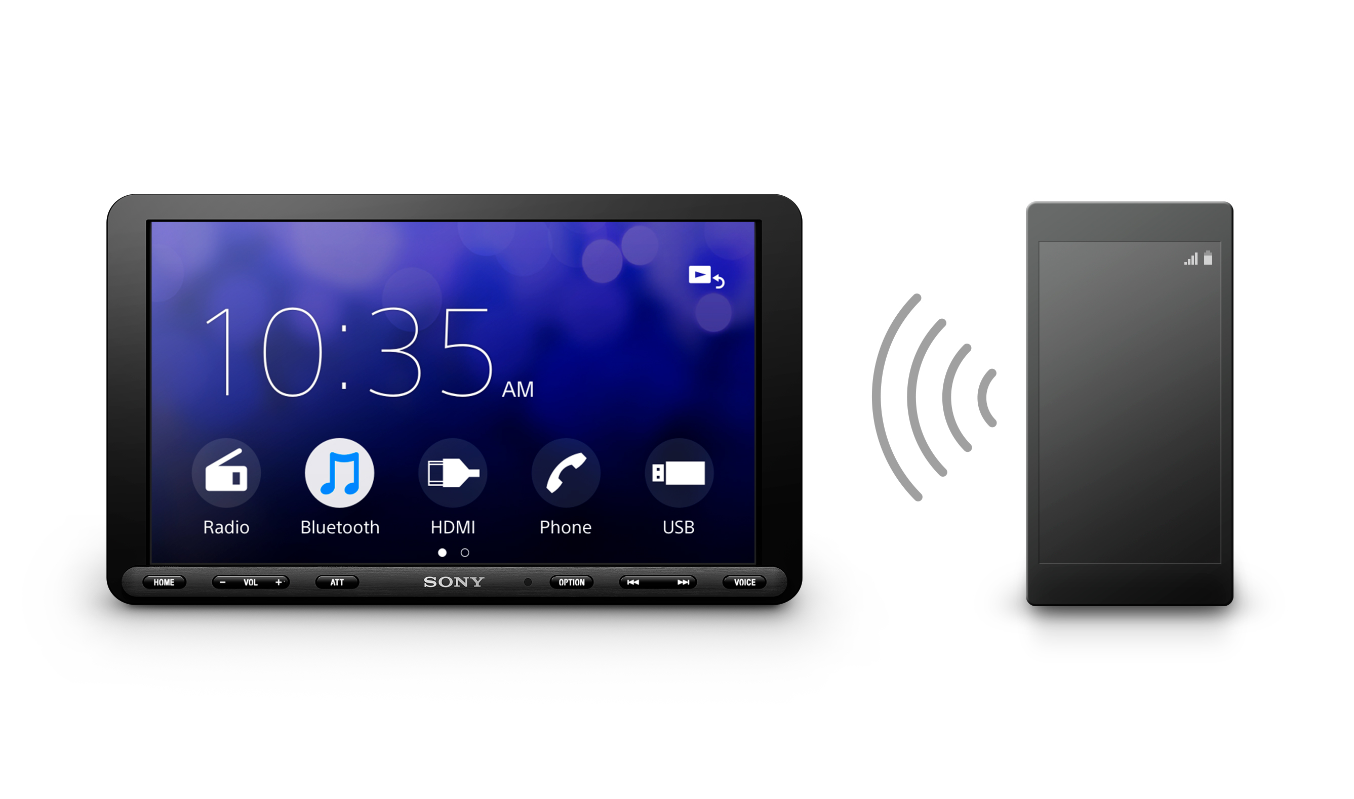 XAV-AX8100_Others_Front_Bluetooth
