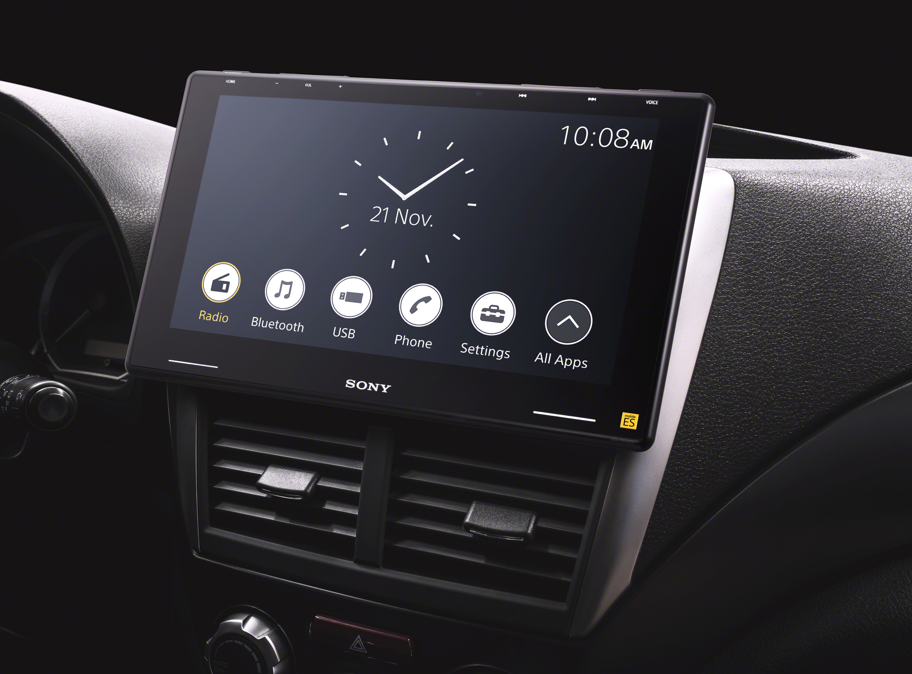Sony Welcomes New XAV-9500ES In-car Media Receiver  to its Premium Mobile ES™ Lineup