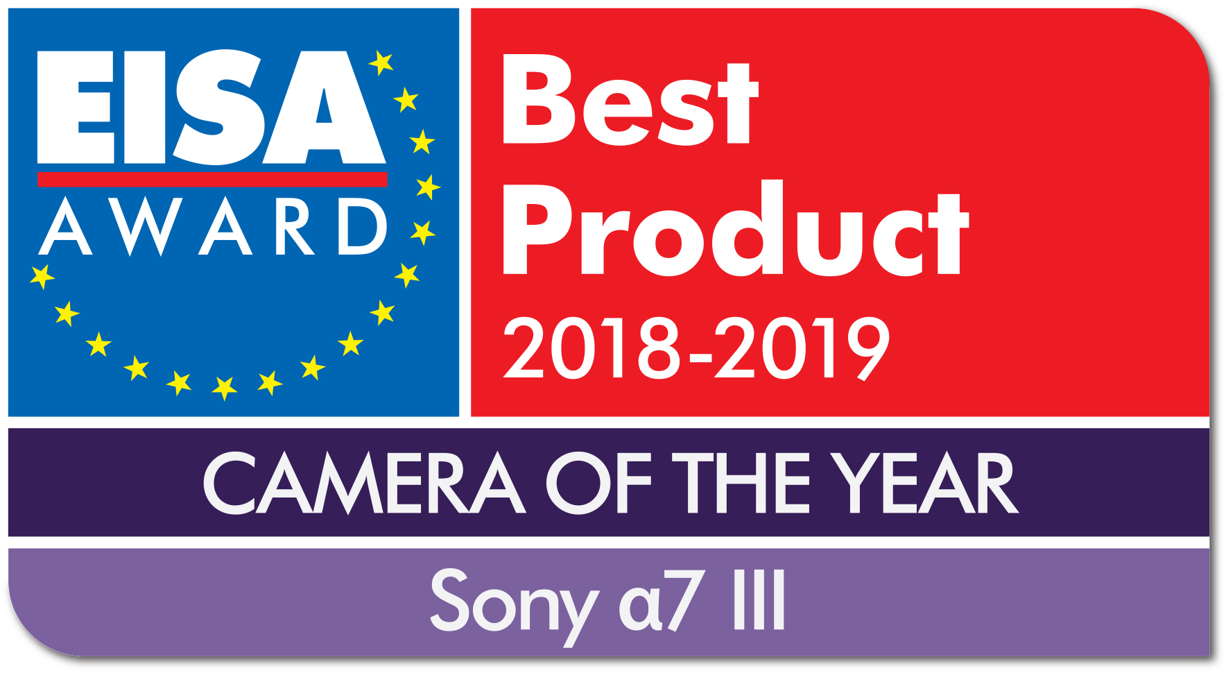 Sony Secures Sevenfold Success at EISA 2018