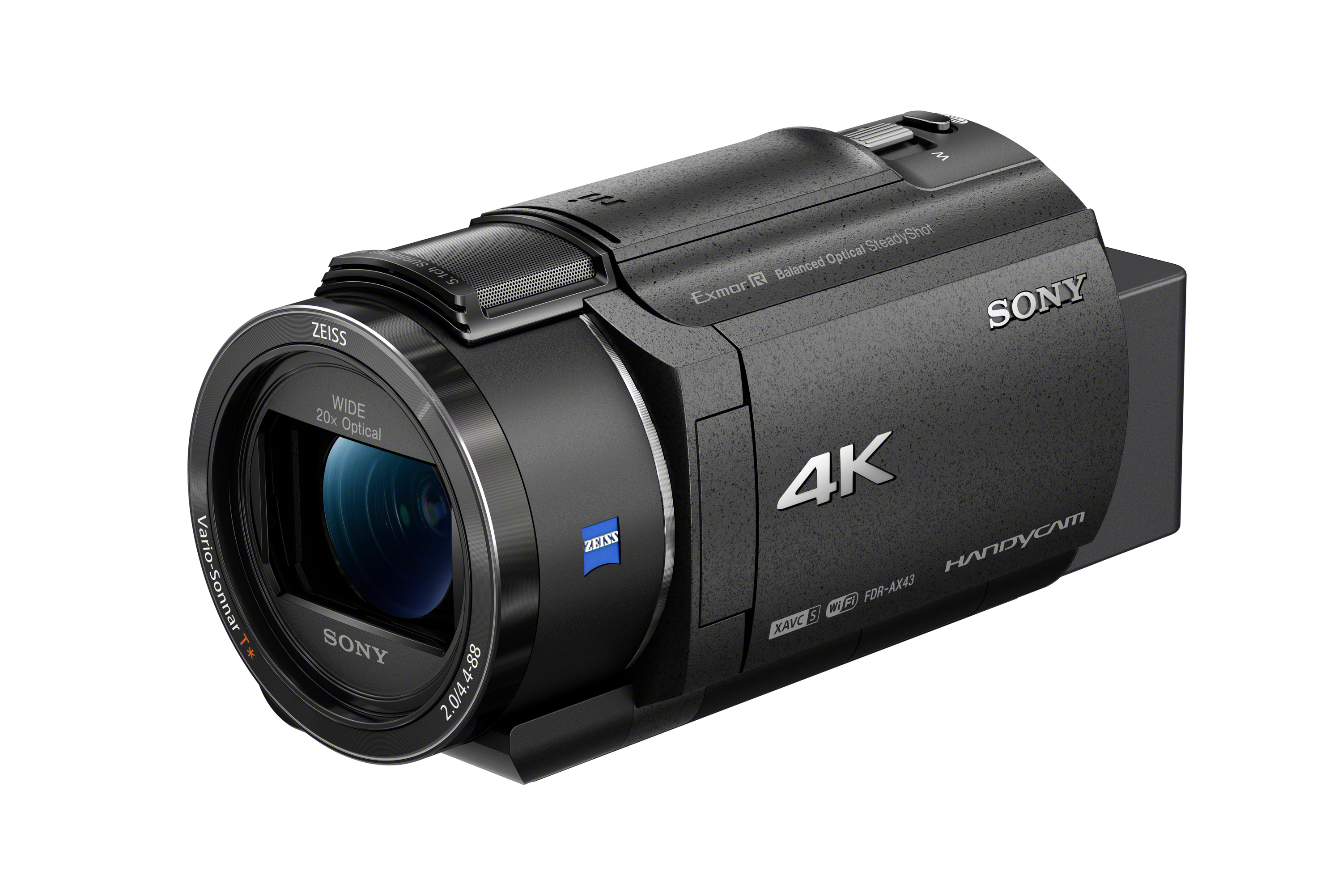Sony Launches New Compact 4K Handycam® Camcorder with Advanced Image Stabilisation Technology