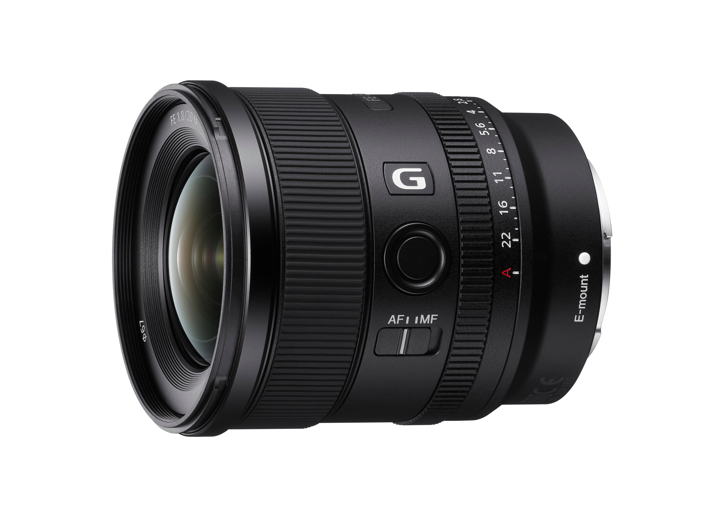 Sony Boosts Full-Frame Lens Line-up with Introduction of New FE 20mm F1.8 G Large-aperture Ultra-wide-angle Prime Lens